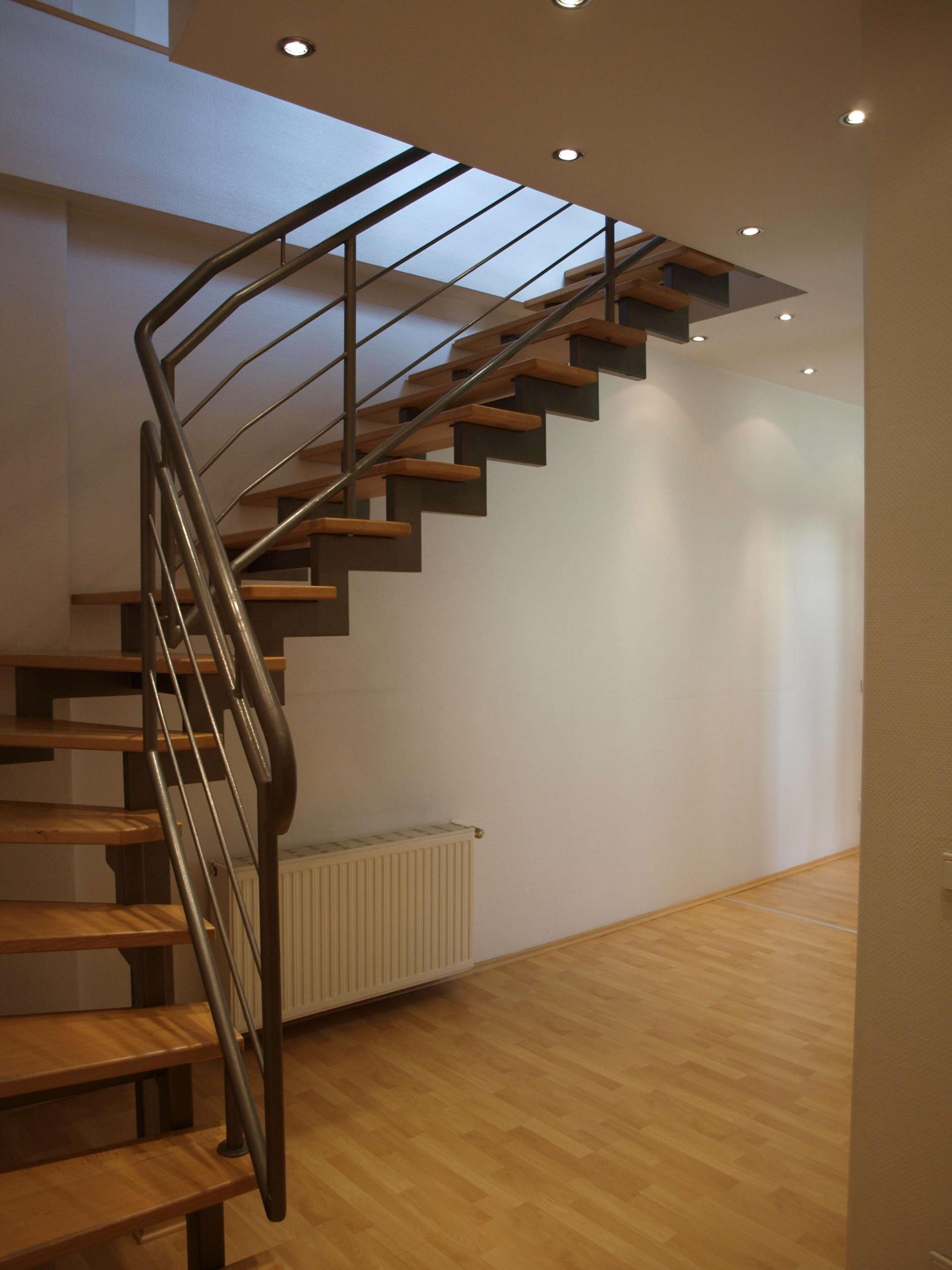 Treppe zum 5. OG