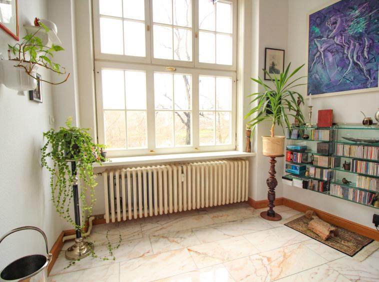 Wintergarten in Zimmer 2